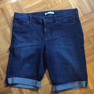 Loft stretch jeans shorts